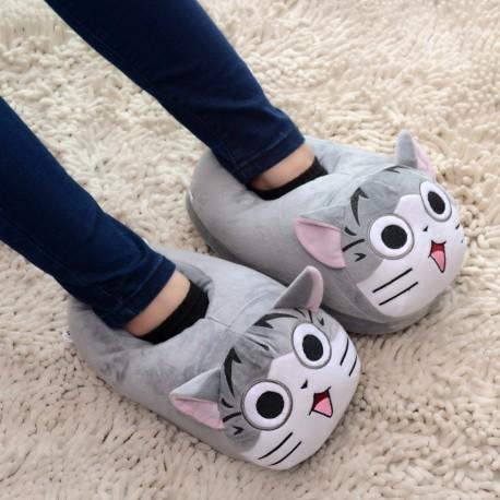 Chaussons Pantoufles Chat