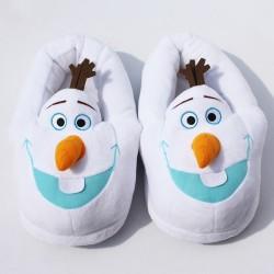 Chaussons Pantoufles Olaf Reine des Neiges