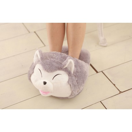 Chaussons Pantoufles Double Huskie