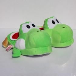 Pantoufles Yoshi Mario