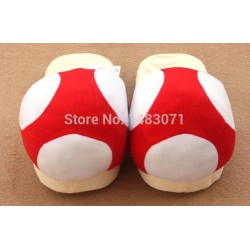 Chaussons Pantoufles Toad Mario
