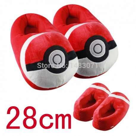 Chaussons Pantoufles Pokeball Pokemon